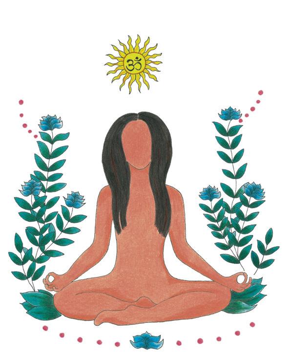 Diseño y confección cojines yoga