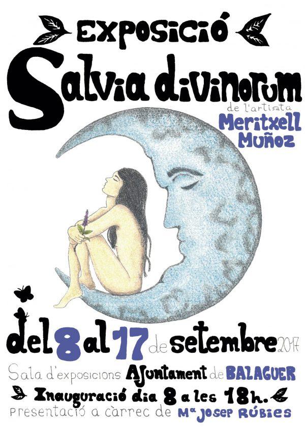 Carteles exposición Salvia divinorum