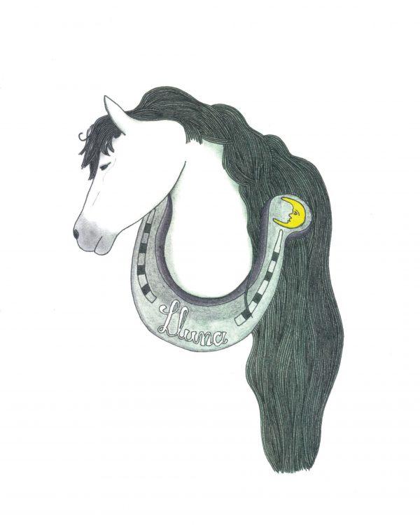 Logotipo caballo y herradura